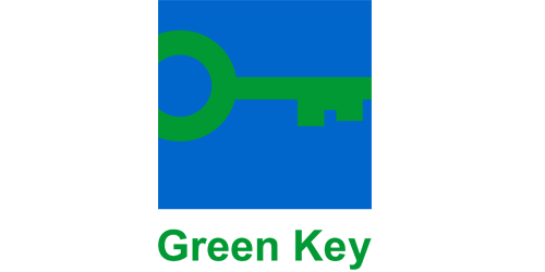 Guest house labeled Green Key
